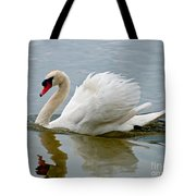 Beautiful Swan Tote Bag