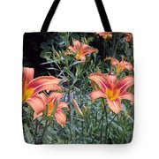 Beautiful Tiger Lilies Tote Bag