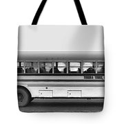 Beautiful Tour Bus At Barrow Tote Bag