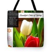 Beautiful Tulips Series 2 Tote Bag