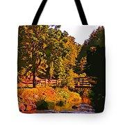Beautiful Victoria Park Truro Nova Scotia Tote Bag