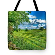 Summer View In Yorkshire Tote Bag