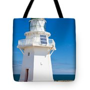 Beautiful Wairapa Point Lighthouse The Catlins Nz Tote Bag