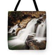 Beautiful Waterfall In Western Ghats Karnataka India Tote Bag