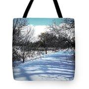 Beautiful Winter View Tote Bag