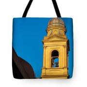 Beautiful Yellow Church Steeple Tote Bag