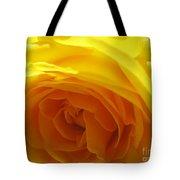 Yellow Rose Macro Tote Bag