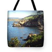 Beautifully Rugged Shoreline At Point Lobos Two Tote Bag