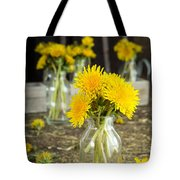 Beauty Among The Weeds Tote Bag