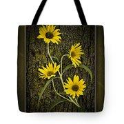 Beauty And Bark Tote Bag