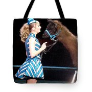 Beauty And Her Llama Tote Bag