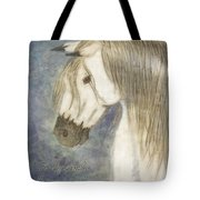 Beauty And Strength With Verse Tote Bag