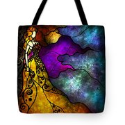 Beauty And The Beast Tote Bag by Mandie Manzano