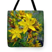 Beauty In A Weed Tote Bag