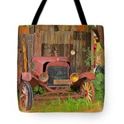 Beauty In Old Age Tote Bag