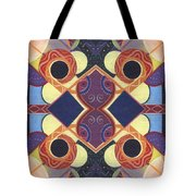 Beauty In Symmetry 1 - The Joy Of Design X X Arrangement Tote Bag