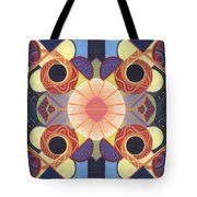 Beauty In Symmetry 4 - The Joy Of Design X X Arrangement Tote Bag