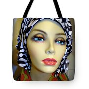 Beauty In Turban Tote Bag