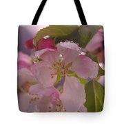 Beauty Is A Dew Drop On A Flower Tote Bag