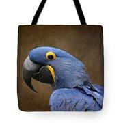 Beauty Is An Enchanted Soul - Hyacinth Macaw - Anodorhynchus Hyacinthinus Tote Bag