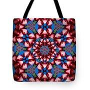 Beauty Of Aruba Kaleidoscope Tote Bag