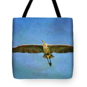 Beauty Of Flight Textured Tote Bag