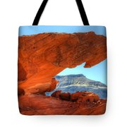 Beauty Of Sandstone Little Finland Tote Bag by Bob Christopher