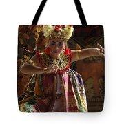 Beauty Of The Barong Dance 2 Tote Bag