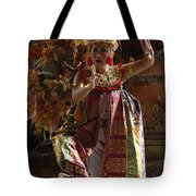 Beauty Of The Barong Dance 3 Tote Bag