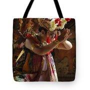 Beauty Of The Barong Dance 4 Tote Bag