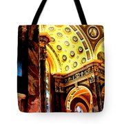 Beauty Of The Basilica Tote Bag