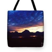 Beauty Of The Grand Tetons Tote Bag