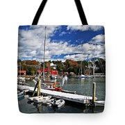 Beauty Of The Harbor Tote Bag