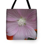 Beauty Of The Hollyhock  Tote Bag