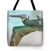 Beauty Of The Pelican Tote Bag