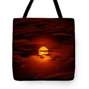 Beauty Of The Sun And Clouds Tote Bag