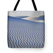 Patterns White Sands New Mexico Tote Bag
