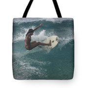 Beauty On A Surf Board Tote Bag