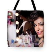 Beauty Portrait Tote Bag