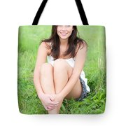 Beauty Portrait Tote Bag