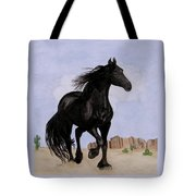 Beauty Running Free Tote Bag