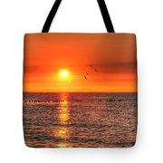 Beauty Sunset Tote Bag