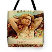 Beauty Vintage Cigar Advertisement  Tote Bag