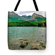 Beauvert Lake In Jasper Np-ab Tote Bag