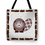 Beaver - Animals - Art For Kids Tote Bag