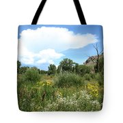 Beaver Creek Valley In Colorado Tote Bag