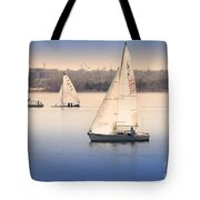 Becalmed Tote Bag by Betty LaRue