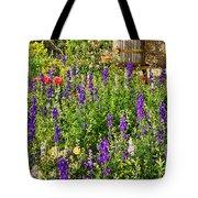 Becker Vineyards' Flower Garden Tote Bag