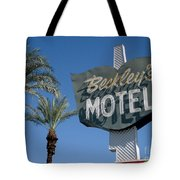 Beckley's Motel Cathedral City Tote Bag by Jim Zahniser
