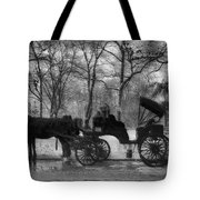 Beckoning Carriage Tote Bag